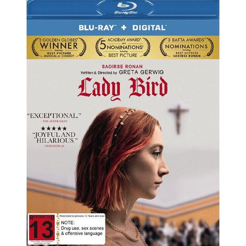 LADY BIRD BLURAY  VG+
