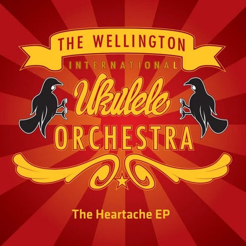WELLINGTON INTERNATIONAL UKULELE ORCHESTRA-THE HEARTACHE EP CD VG