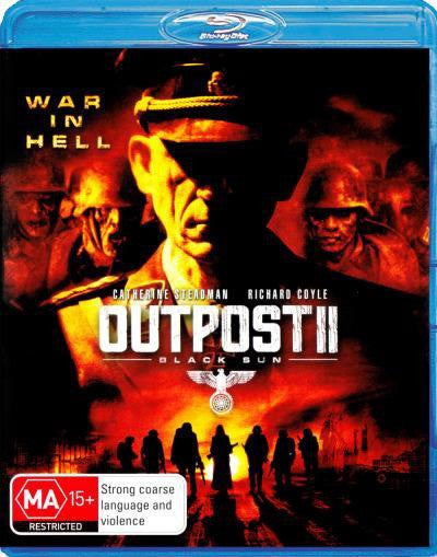 OUTPOST II BLACK SUN - BLU RAY VG