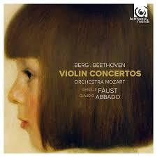 BERG/ BEETHOVEN-VIOLIN CONCERTOS FAUST ABBADO CD *NEW*