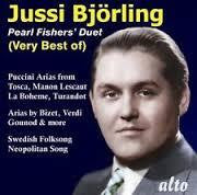 BJORLING JUSSI-PEARL FISHERS DUET VERY BEST OF CD *NEW*