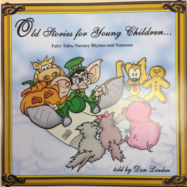 LINDEN DON-OLD STORIES FOR YOUNG CHILDREN CD *NEW*