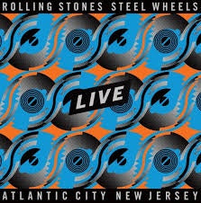 ROLLING STONES-STEEL WHEELS LIVE ATLANTIC CITY NEW JERSEY 4LP *NEW*""