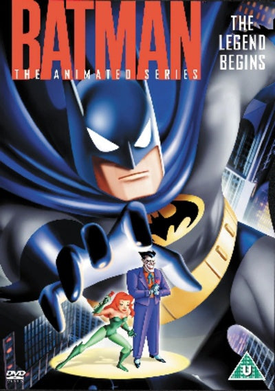 BATMAN-THE LEGEND BEGINS THE ANIMATED SERIES VOLUME ONE DVD VG
