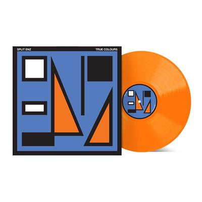 SPLIT ENZ-TRUE COLOURS ORANGE VINYL LP *NEW*