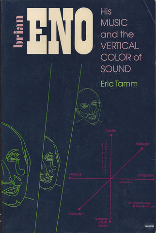 ENO BRIAN-HIS MUSIC & THE VERTICAL COLOR OF SOUND ERIC TAMM BOOK VG