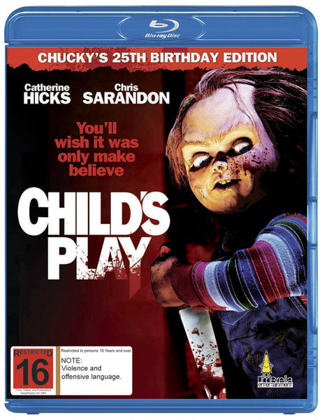CHILD'S PLAY BLURAY VG+