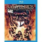 BLACK VEIL BRIDES-ALIVE & BURNING BLURAY *NEW*