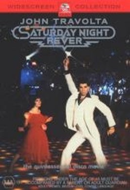 SATURDAY NIGHT FEVER DVD VG
