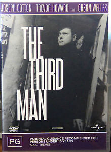 THE THIRD MAN DVD VG