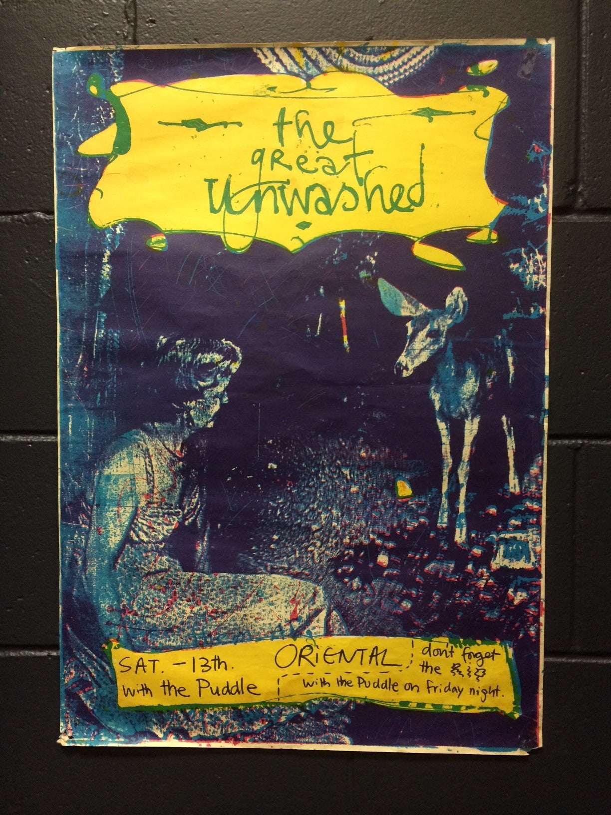 GREAT UNWASHED THE-ORIGINAL GIG POSTER