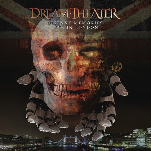 DREAM THEATER-DISTANT MEMORIES LIVE IN LONDON 3CD+2DVD *NEW*