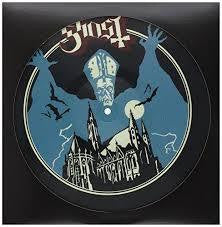 GHOST-OPVS EPONYMOVS PICTURE DISC LP VG+ COVER EX