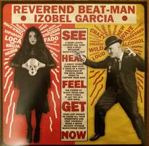 REVEREND BEATMAN & IZOBEL GARCIA-BAILE BRUJA MUERTO LP+CD *NEW*