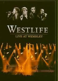 WESTLIFE - LIVE AT WEMBLEY DVD VG