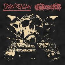 IRON REAGAN/ GATECREEPER-SPLIT LP *NEW*