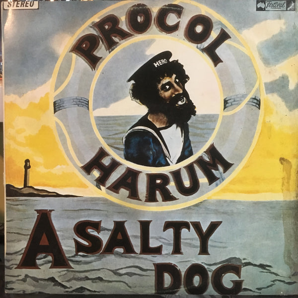 PROCOL HARUM-A SALTY DOG LP VG+ COVER VG