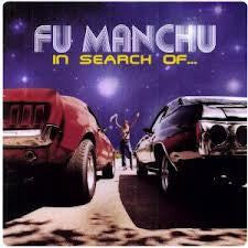 "FU MANCHU-IN SEARCH OF CLEAR/ BLUE & YELLOW SPLATTER VINYL LP+7"" *NEW*"