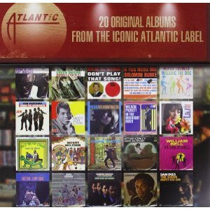 ATLANTIC SOUL LEGENDS-BOXSET 20 ALBUMS AMAZING VALUE *NEW*