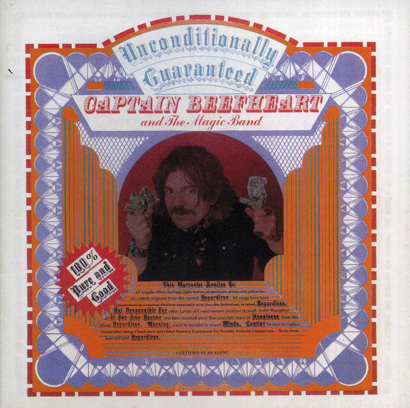 CAPTAIN BEEFHEART-UNCONDITIONALLY GUARANTEED CD VG