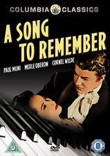 A SONG TO REMEMBER DVD VG