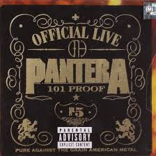 PANTERA-101 PROOF CD VG