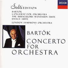 BARTOK-CONCERTO FOR ORCHESTRA SOLTI CD VG