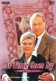 AS TIME GOES BY-SERIES  THREE & FOUR 3 DVD VG