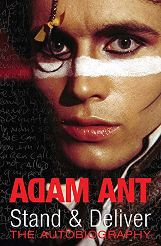 ANT ADAM-STAND & DELIVER BOOK VG