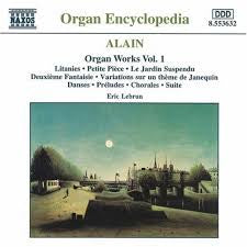 ALAIN-ORGAN WORKS VOL. 1 CD VG