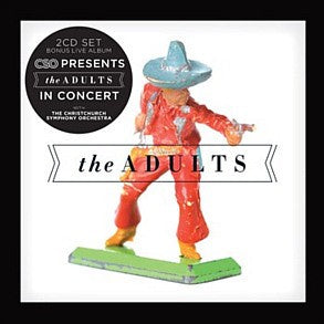 ADULTS THE-THE ADULTS 2CD  VG