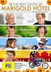 BEST EXOTIC MARIGOLD HOTEL THE FILM DVD VG+