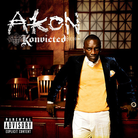 AKON-KONVICTED CD VG