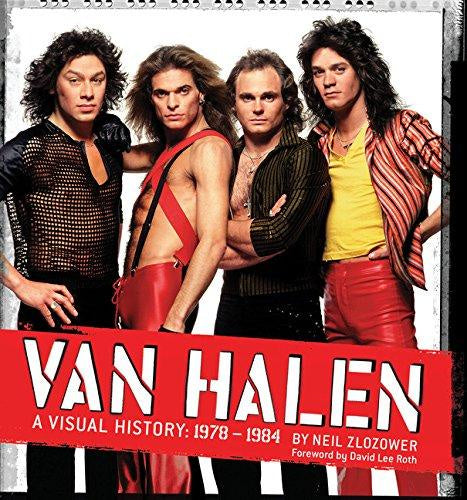 VAN HALEN: A VISUAL HISTORY 1978-1984 BOOK VG