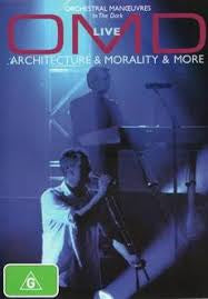 OMD LIVE -ARCHITECTURE & MORALITY & MORE DVD VG