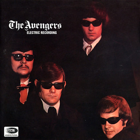 AVENGERS THE-ELECTRIC RECORDING CD VG