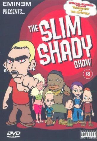 EMINEM PRESENTS THE SLIM SHADY SHOW DVD VG