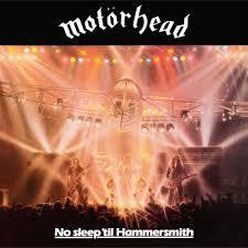 MOTORHEAD-NO SLEEP 'TIL HAMMERSMITH LP *NEW*