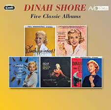 SHORE DINAH-FIVE CLASSIC ALBUMS 2CD *NEW*