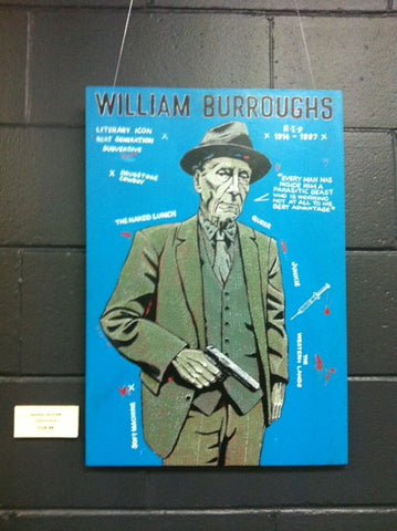 BURROUGHS WILLIAM-ORIGINAL ARTWORK BY LEWIS WALSH *NEW*