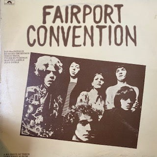 FAIRPORT CONVENTION-FAIRPORT CONVENTION LP VG+ COVER VG