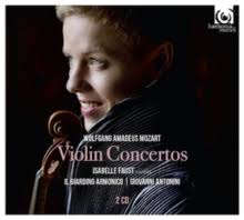 MOZART-VIOLIN CONCERTOS ISABELLE FAUST 2CD *NEW*
