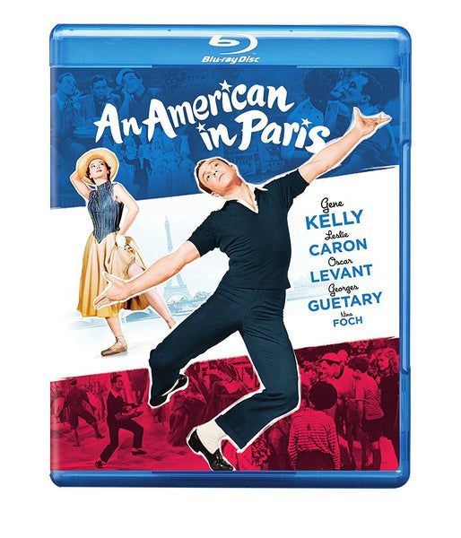 AN AMERICAN IN PARIS - FILM BLURAY VG