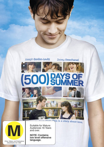 500 DAYS OF SUMMER DVD VG