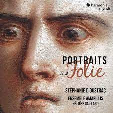 PORTRAITS DE LA FOLIE-D'OUSTRAC, ENSEMBLE AMARILLIS, GAILLARD CD *NEW*