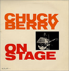 BERRY CHUCK-ON STAGE ORIGINAL MONO LP VGPLUS COVER VGPLUS