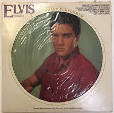 PRESLEY ELVIS-A LEGENDARY PERFORMER VOLUME 3 PICTURE DISC LP EX COVER VG+