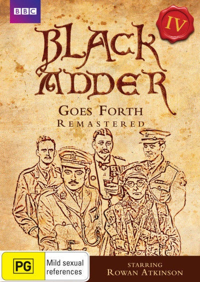 BLACK ADDER-GOES FORTH (SERIES 4) DVD VG
