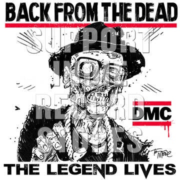 "DMC-BACK FROM THE DEAD RED VINYL 12"" EP *NEW*"