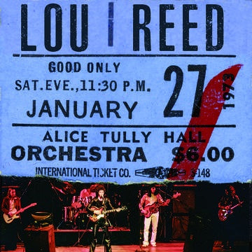 REED LOU-LIVE AT ALICE TULLY HALL JANUARY 27, 1973-2ND SHOW BURGUNDY VINYL 2LP *NEW*